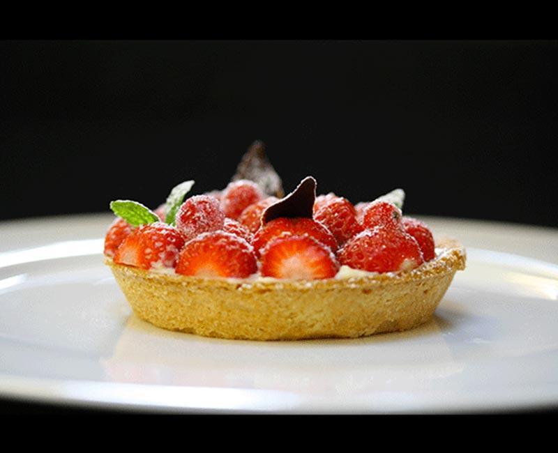 Tarte-aux-fraises bertrand larzul